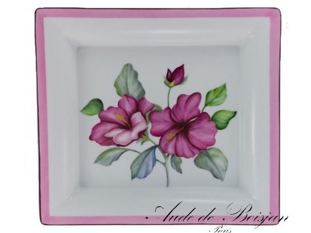 Vide poche hibiscus des Caraïbes