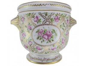 Cache pot porcelaine