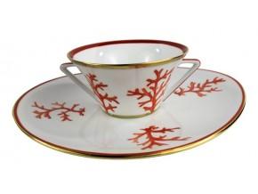 Tasse à thé Corail