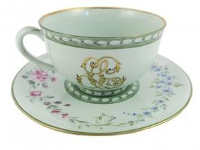 """Tasse à thé en céladon  """"Eglantine"""""""
