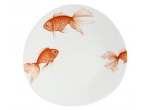 Assiette poissons exotiques