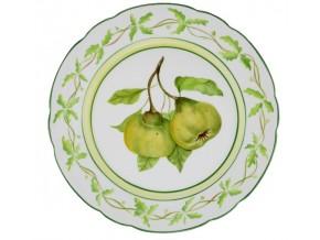 Assiette en faïence Fruits