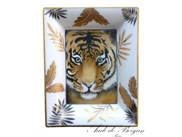 Vide poche Tigre aux yeux verts