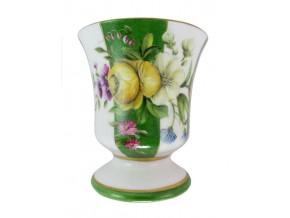 Petite vase à la Rose jaune
