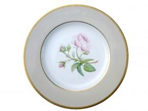 Assiette porcelaine Rose et boutons