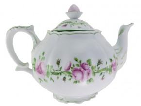 '' Lise '' Service à thé Roses  dans entrelacs feuillage et rubans