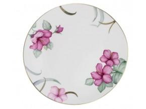 Assiette Les hibiscus