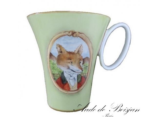 Mug Goupil en tenue de chasse