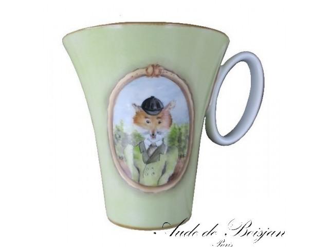 Mug Goupil avec casquette