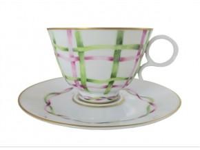 Tasses à thé en porcelaine de Limoges aux motifs variés