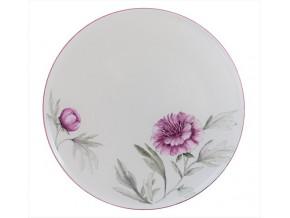 Assiette porcelaine Fleurs des Champs