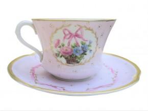 Tasse à thé Alice en porcelaine fine de Limoges