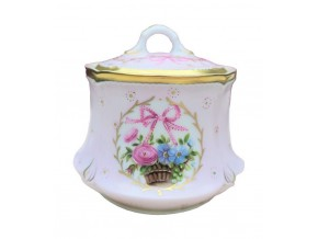Sucrier Alice en porcelaine de Limoges