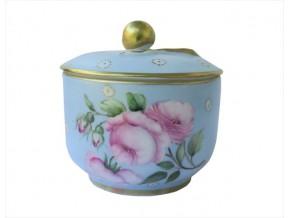Sucrier confiturier Elisabeth en porcelaine de Limoges