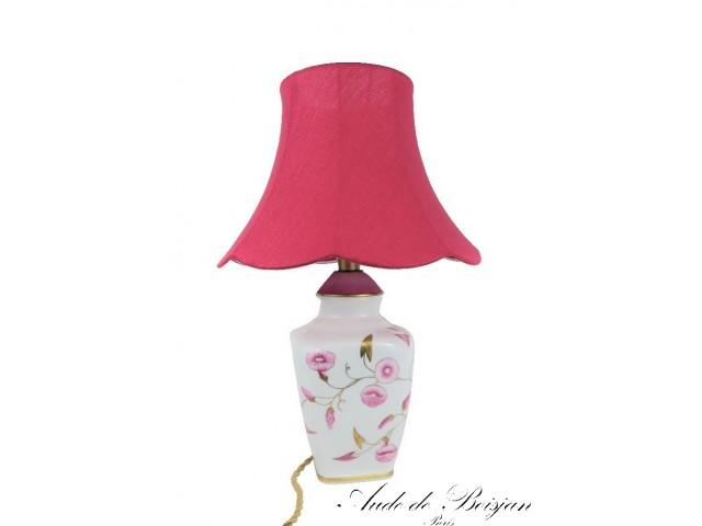 """Lampe """" Volubilis """" et ramages d'or"""