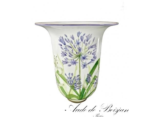 Vase '' Les  Agapanthes ''