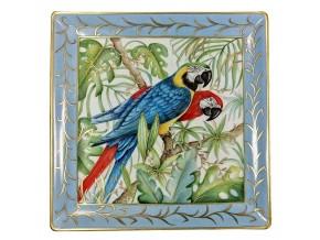 Grand vide-poche Tropical Jungle Parrots