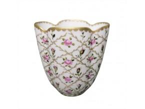Petit vase satiné ''Eugénie''